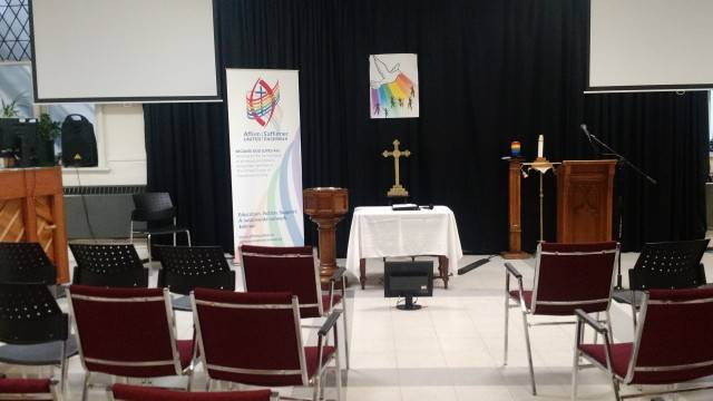 New Vision Affirming Recognition service pre-service